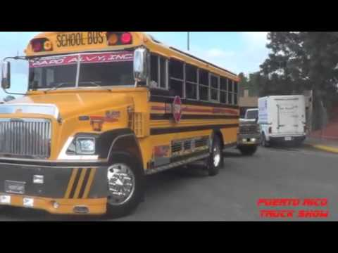 Puerto Rico School Bus