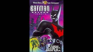 Opening to Batman Beyond The Movie 1999 VHS