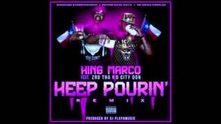 King Marco ft. Z-Ro - Keep Pourin Screwed & Chopped