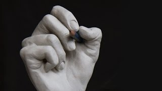 Video Sculpting a Hand in Clay [Fast Motion] download MP3, 3GP, MP4, WEBM, AVI, FLV Maret 2018