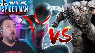 SPİDERMAN VS DEV BOSS RHINO! | PS5 SPIDER-MAN MILES MORALES #7