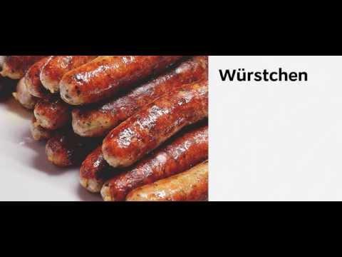 Speisekarte / Меню на немецком / Как заказать еду на немецком