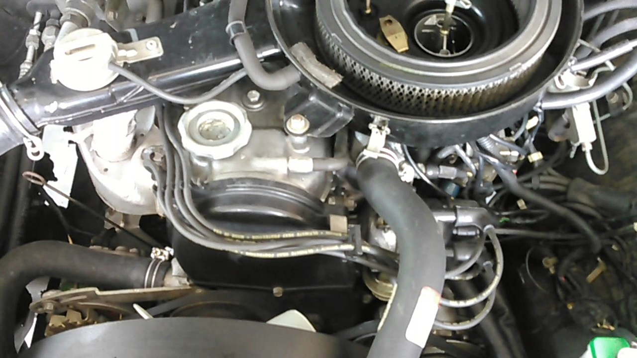 Ram 50 2.0L G63B Engine For Sale - YouTube