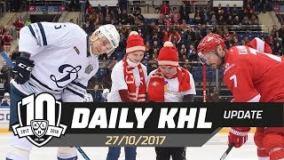 Daily KHL Update - October 27th, 2017 (English)