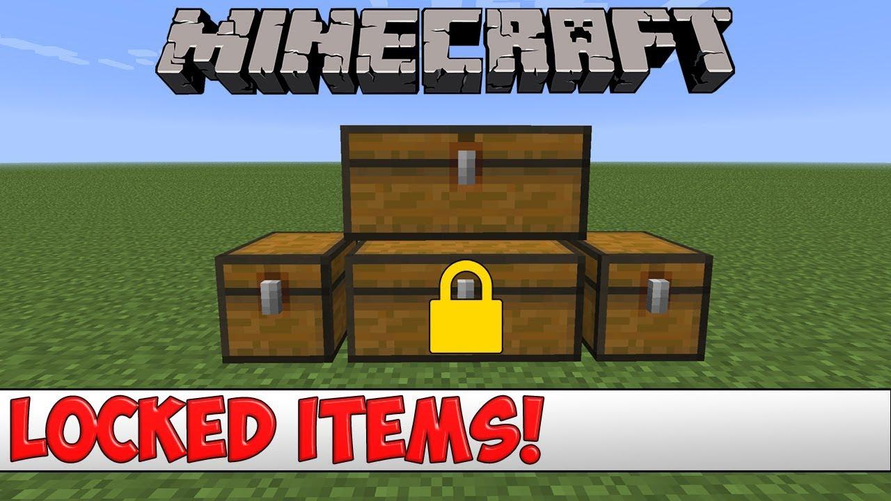 Minecraft Plugin Tutorial - Locked Items