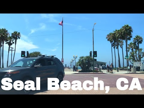 🔴  Seal Beach California Driving Tour 4K