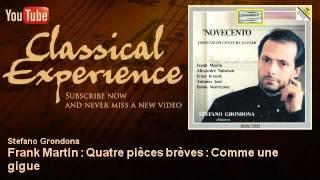 Frank Martin : Quatre pièces brèves : Comme une gigue - ClassicalExperience