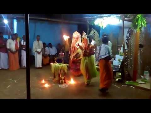 Varthe Panjurli bhoota Kola in Gillali, Hebri, Udupi District (04)