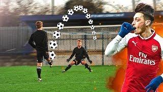 Mesut Özil vs freekickerz ⚽ 1vs1 Fußball Challenge