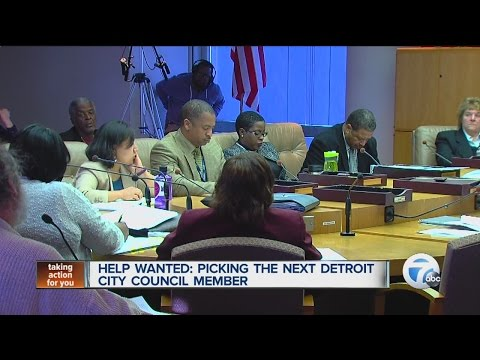 Help wanted picking the next Detroit City Council member