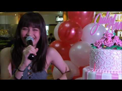 JULIE ANNE SAN JOSE | First Time Bowling with Fans on Birthday Event