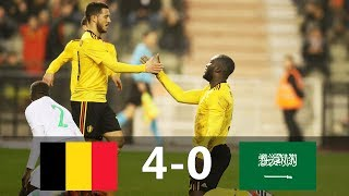 Belgium vs Saudi Arabia 4-0 - All Goals & Extended Highlights - Friendly 27/03/2018 HD