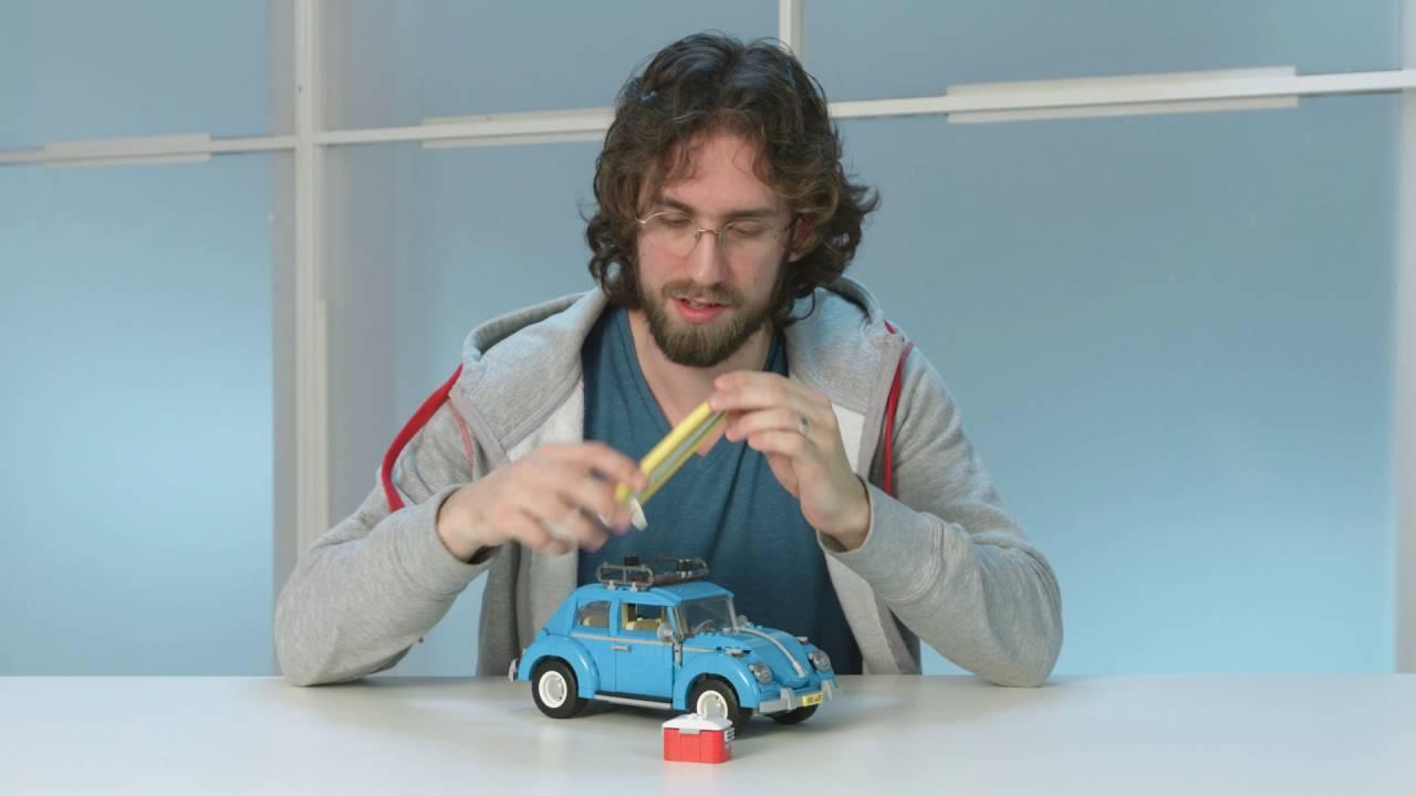 vw beetle lego creator expert  designer video youtube