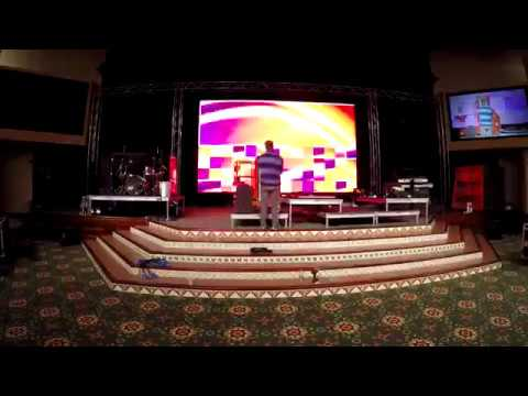 How Install Large Led Screen Display For Church Use Youtube