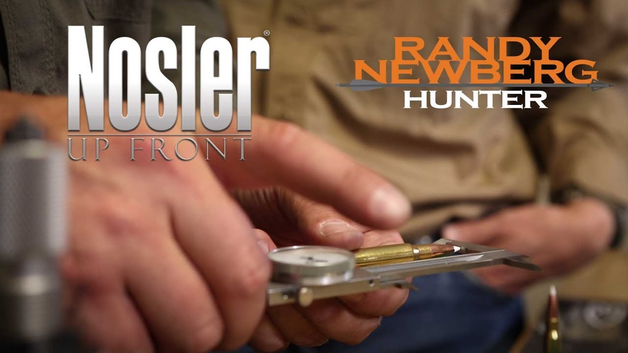 Nosler Reloading Tutorial with Randy Newberg - Bullet Seating Depth (Part 4)
