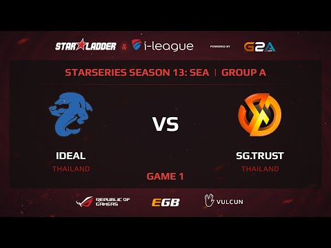 iDEAL vs Signature.Trust, |StarSeries 13 SEA, Game 1
