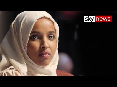 Ilhan Omar greeted with cheers in Minnesota after days of Trump attacks