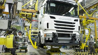 Scania Truck Production In Europe | MEGA Factories