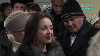 Побриться налысо и получить 30 евро: в Нарве сотни человек приняли участие в кастинге фильма