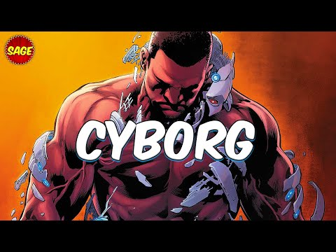 Who is DC Comics Cyborg? Man or Machine?