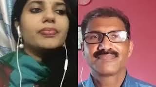 Mazha paadum kulirayi vannatharo evalo - Parvathi Hari & Peter Pranavam