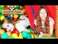 [VLOG] On retourne s'amuser à Doudoo Park - Trampolines toboggans ! Fun indoor - Indoor playground !