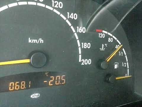 Mercedes vito w638 2.2CDI заводим дизель в мороз -20
