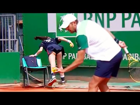 20 FUNNIEST MOMENTS IN TENNIS