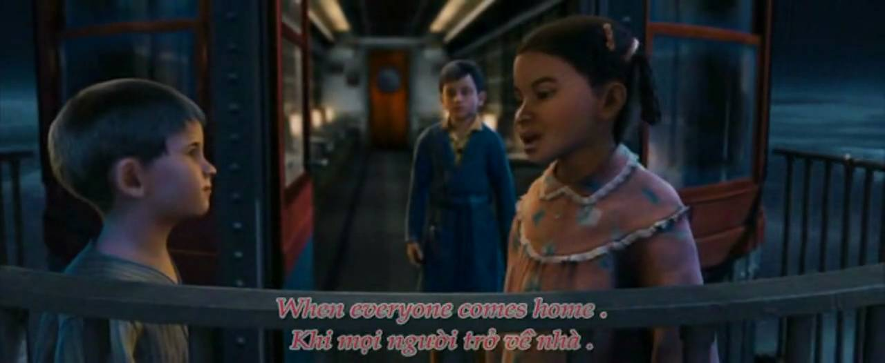 The Polar Express OST - When Christmas Comes To Town - Engsub + ...