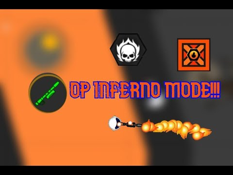 Op New Inferno Mode Surviv Io Including Gameplay From Flamethrower Youtube