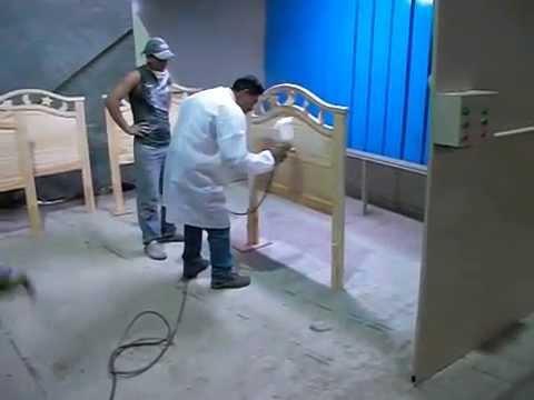 Cabina para pintado de muebles de madera fabricacion for Pintura de muebles de madera