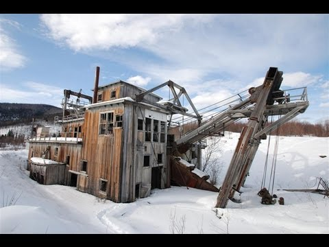 Abandoned Yukon Gold Dredge