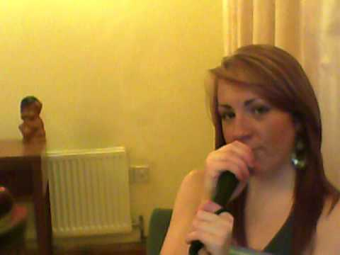 Rachel Cooper sining adele to make you feel my love
