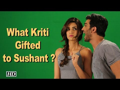 Thumbnail: What is Kriti's SPECIAL Gift for Sushant ?