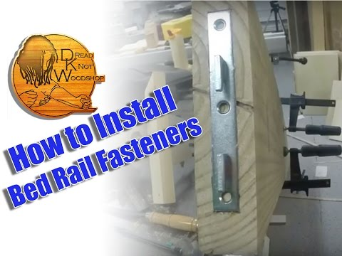 Tips #4: Install Bed Rail Fastener Hardware