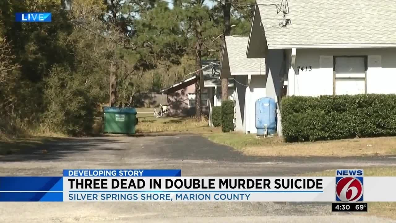 3 dead in Marion County double murder suicide, deputies say