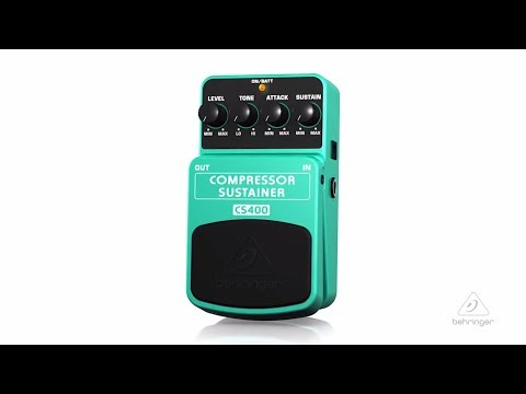 CS400 | Compressor/Sustainer Pedal