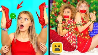 Christmas Room Decor! Outfit DIY and Fashion Life Hacks Ideas You Must Try! Part 3