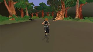Me Exploring the Lost Jungle Book World in Kingdom Hearts BBS (JPN)