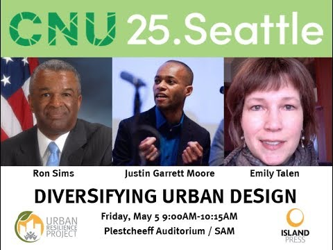 Diversifying Urban Design — CNU 25 Panel