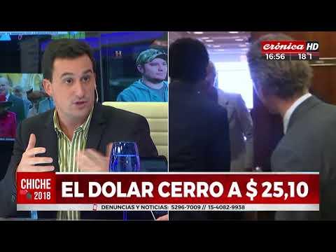 El dólar cerró a $ 25,10