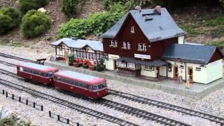 Garteneisenbahn im Miniaturenpark Wernigerode
