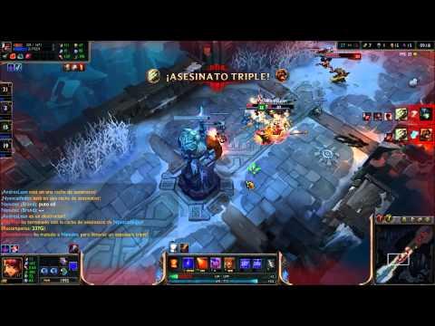League of Legend / ARAM RANDOM - SORAKA AD Y NAMI AP CARRIS