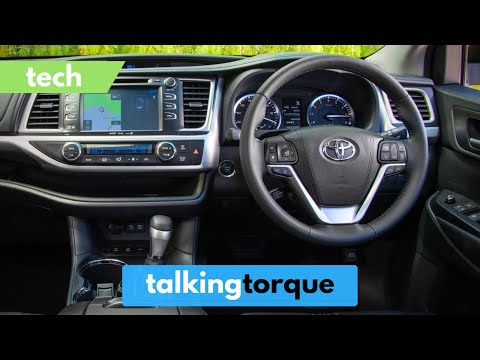 Toyota Kluger/Highlander Interior Tech Review