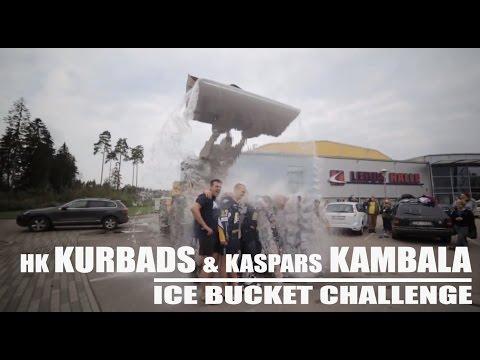 Hockey club KURBADS and Kaspars Kambala - Ice Bucket Challenge Accepted