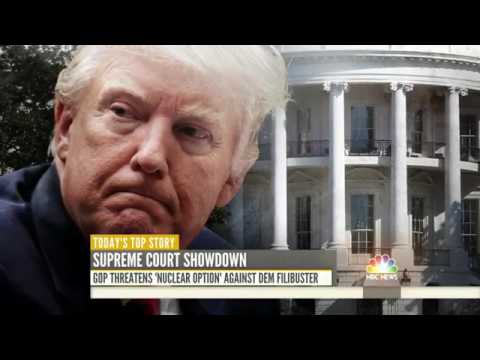 President Trump Makes Hard Sell For Neil Gorsuch While Deflecting Russia Allegations | TODAY
