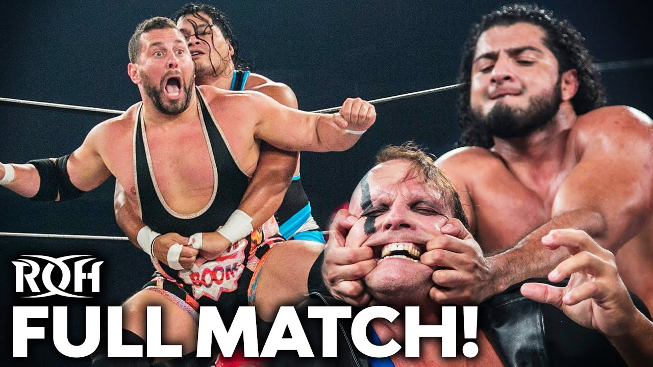 Colt Cabana & PCO vs RUSH & Jeff Cobb Gets CRAZY! FULL MATCH (ROH Honor United: Newport 2019)