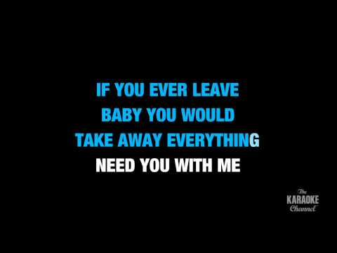 "How Do I Live in the Style of ""Trisha Yearwood"" karaoke video with lyrics (no lead vocal)"