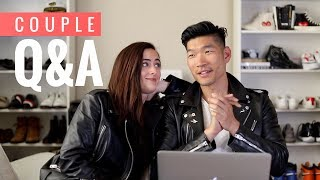 COUPLE Q&A! | AMWF Interracial Relationship | Levitate Style Video