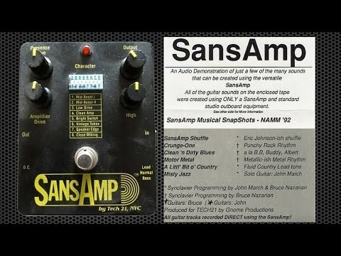 SansAmp Demo 6 - Misty Jazz - Solo Clean Jazz Guitar by John March